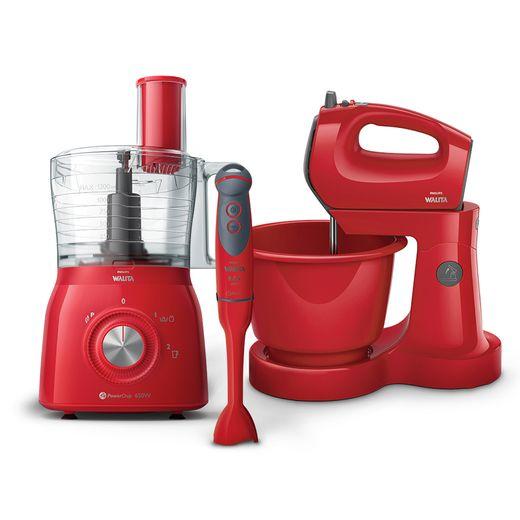 Kit-Gourmet-Philips-Walita-Vermelho