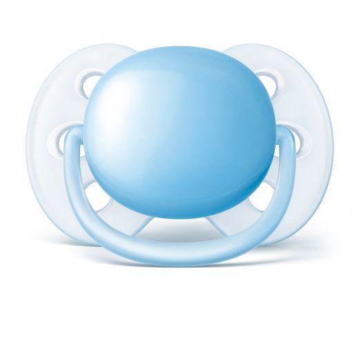 Chupeta-Ultra-Soft-0-A-6-Meses-Philips-Avent---Scf412-10---Azul