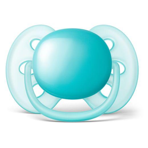 Chupeta-Ultra-Soft-6-A-18-Meses-Philips-Avent---Scf414-12---Azul