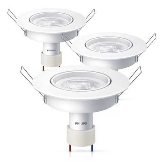 3-Luminarias-Philips-LED-SpotKit-GU10-Redonda-5W-2700K