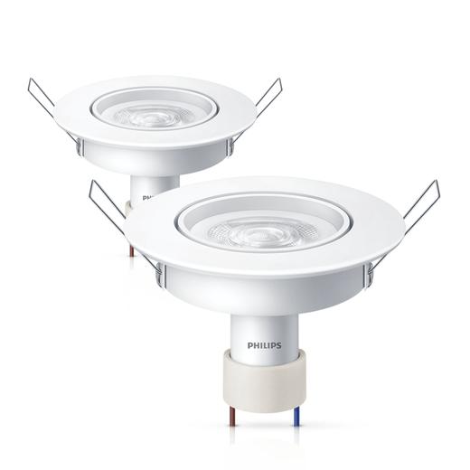 2-Luminarias-Philips-LED-SpotKit-GU10-Redonda-5W-6500K