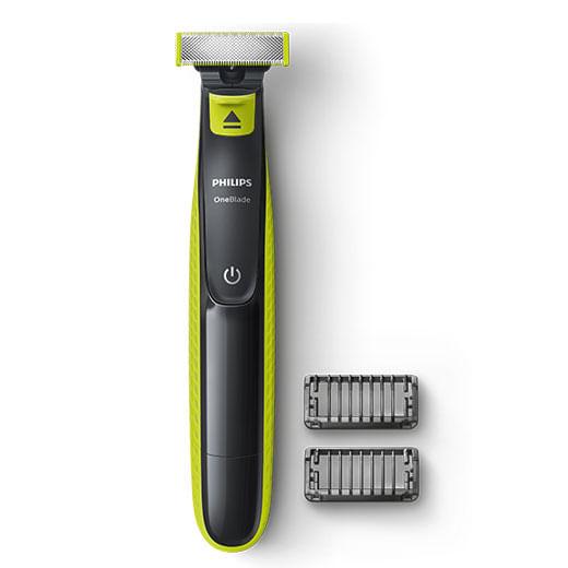 7961c3f39 Não é um aparelho de barbear. Este é o OneBlade.